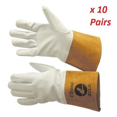 Ultima Gold Tig Gloves – 10 Pair Pack • 69£