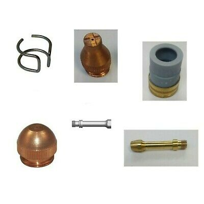 Wtc 90-100a Plasma Torch Cutting Spares Consumables Tips Electrodes Nozzles  • 5.90£