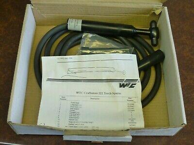 Genuine Wtc Tig Welding Torch 3.5mt 0315120 /r 121 Craftsman Interlas • 55£