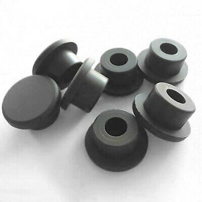 Black Silicone Rubber Blanking End Caps Tube Pipe Inserts Plug Bung 10 - 29mm • 32.19£