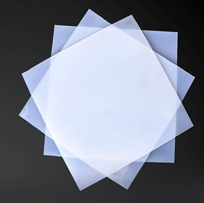 500x500mm Square Silicone Rubber Sheet Pad Sealing Mat Thick0.5/1/2/3/4/6/8/10mm • 22.65£