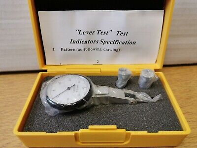 0410-004AD   0-0.8 Dial Test Indicator With Carbide Pointer • 35.06£
