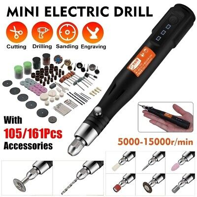 Drill Electric Mini Grinder Rotary Tool Dremel Kit Engraving Speed Variable Tool • 17.89£