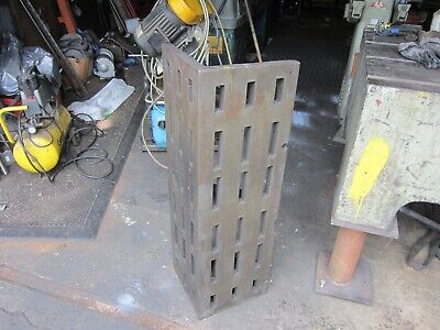 Engineers Angle Plate  Cast Iron 12  X 12 X 38 • 150£