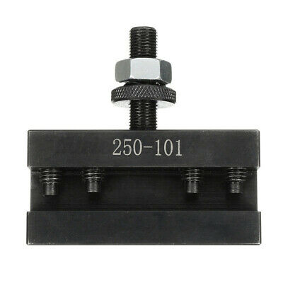 Up To 12inch Quick Change Tool Post Turning Facing Lathe Tool Holder 250-101 # • 14.99£