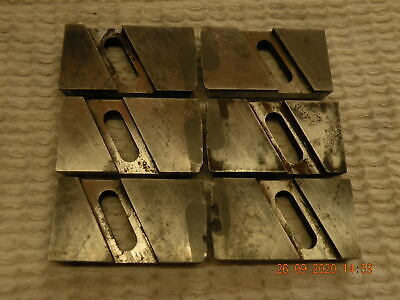 David Brown Floating Reamer Blades 3 Pairs S11 Carbide Require Sharpening Used • 18£