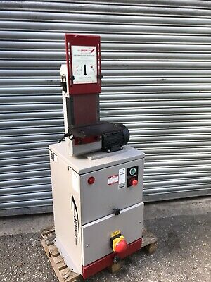 """Union 6"""" Vertical Bandfacer & Dust Extraction Unit 3 Phase • 1,100£"""
