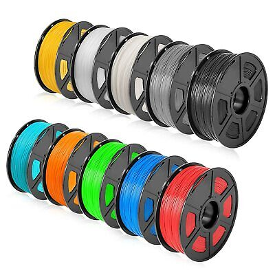 SUNLU 3D Printer Filament ABS PLA PETG PLA+ Silk WOOD 1.75mm 1KG/2.2LB Printing • 17.70£