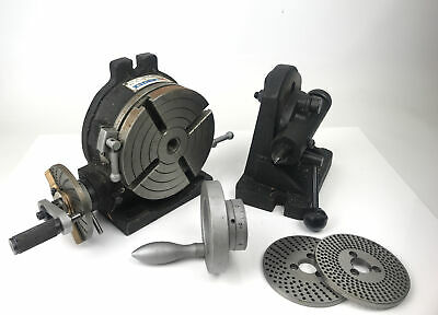 Vertex 6  Rotary Table With Tailstock And Dividing Plates • 280£