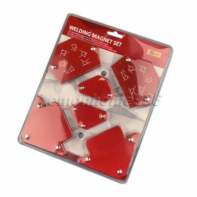 6Pcs Triangle Welding Positioner Magnetic Fixed Angle Soldering Locator Tool Set • 42.59£