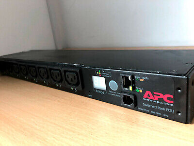 APC Rack PDU AP7920 Switched, 1U, 12A/208V, 10A/230V, (8)C13 • 70£