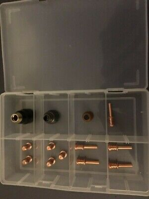 Hypertherm Powermax 30 AIR Consumables Kit In Case 14 Pieces Plasma Spares • 49£
