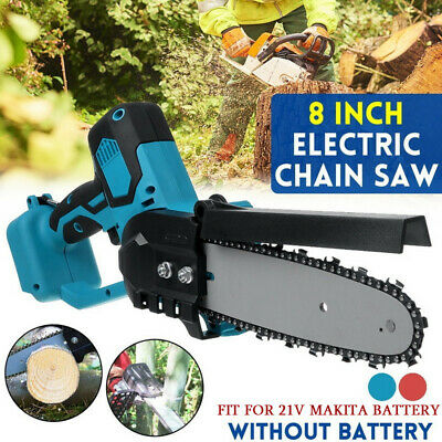 21V Portable One-Hand Saw Woodworking Electric Chain Saw Wood Cutter Logging • 57.83£