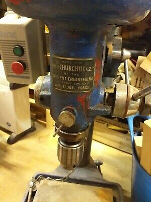 Churchill Bench Pillar Drill Used • 250£