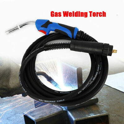 Gas Welding Torch 250A CO2 Free Low Resistance Copper Wire 157.48'' Cable Length • 39.04£