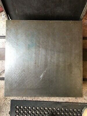 Cast Surface Plate / Inspection Plate Measuring 24  X 24 , Excellent Condition • 75£