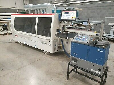 Used 2014 SCM K800 Edgebander With Nordson PU Gluing  <Price Is £20,000+VAT> • 24,000£