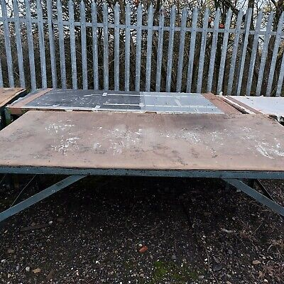 Industrial Textile Cutting Workshop Table Collection Only • 500£