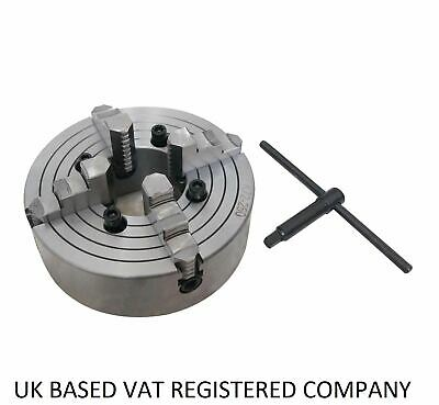4 Jaw Independent Lathe Chuck K72 80 To 320mm • 44.99£