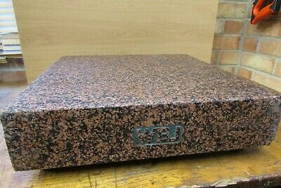WBJ Pink Granite Surface Block/Plate - Used Condition Size 17¾  Squire • 60£