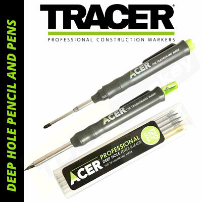 TRACER Deep Hole Marker Pencil Or Pen  - Full Kits / Refill Leads • 17.29£