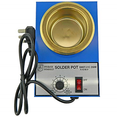 Prince August Solder Melting Pot For Low Melting Point Metal For Hobby Casting. • 31.14£