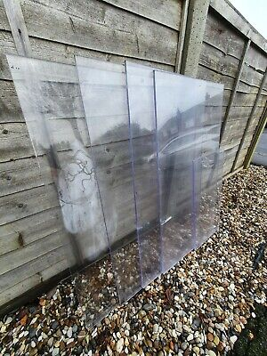 See Through / Transparent Plastic Boards / Polycarbonate Sheets • 10£