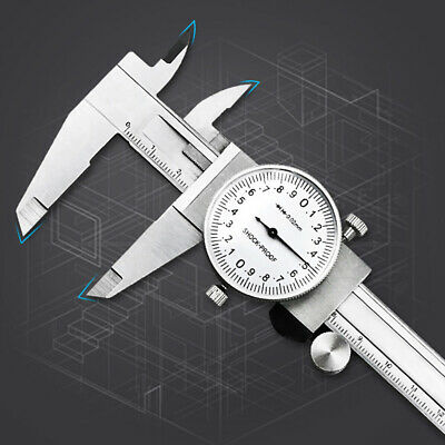 0-150mm Measuring Tools Multifunction Stainless Steel Industrial Dial Caliper • 18.05£
