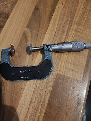Mitutoyo 123-126 Outside Micrometer • 30£