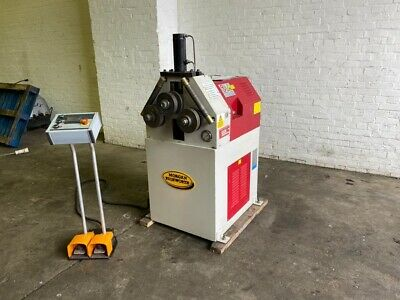 Morgan Rushworth HRS 50 / 160 Powered Section Bending Rolls / Ring Roller • 4,950£
