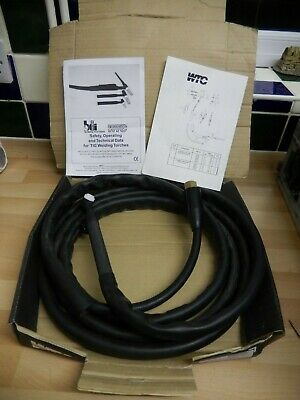 WTC WTC9V-12BRBSW TIG PKG VALVE / TORCH HEAD And 12ft GAS HOSE - SW & SH • 30£