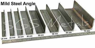 Mild Steel ANGLE Iron Excellent Range Of Sizes & Lengths Available • 26.07£