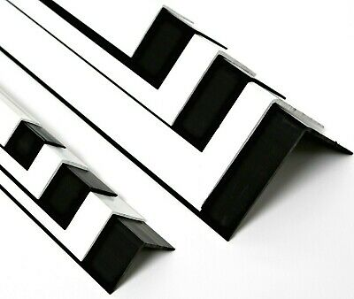 White Or Black PVC Plastic Extruded Angle Wall Corner Protector • 39.60£