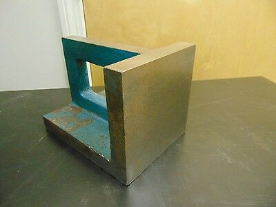 6  X 8  Plain Webbed Angle Plate - Unknown Mfg. - FU10 • 75.01£