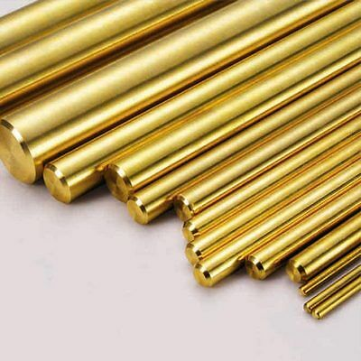 Brass Round Bar/Rod - Various Lengths 3mm To 120mm - Modelmaking - CHEAP • 22.13£