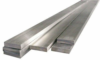 304 Stainless Steel Flat Bar - Solid - Many Sizes/Lengths - Lathe, Mill, Machine • 21.99£