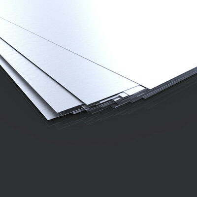 ALUMINIUM SHEET - Grade 1050 - Thicknesses (0.5,1,1.2,1.5,2,3 & 4)mm - All Sizes • 66.49£