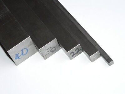 Mild Steel Square Bar /Rod -  6mm To 50mm Diameter - Various Lengths - Cheap  • 52.24£