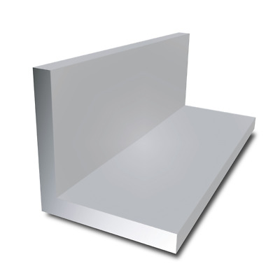 Aluminium Extruded Angle Various Sizes Thickness And Lengths From 150mm To 2000 • 12.99£