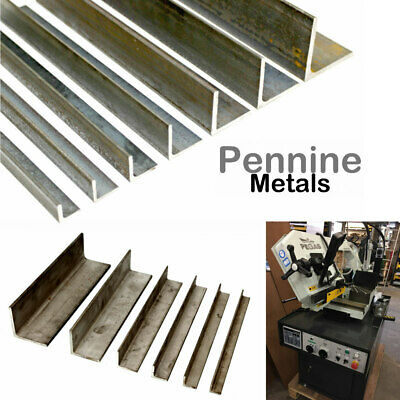 Steel ANGLE Iron - STAINLESS Or MILD STEEL Bandsaw Cut Lengths UK Metal Seller • 4.68£