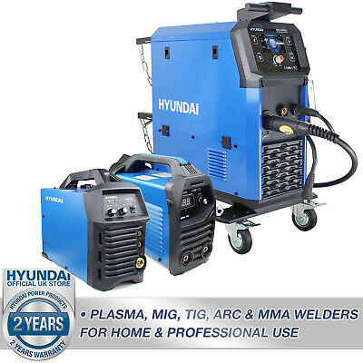 🔵 Hyundai Welder Option MIG TIG ARC MMA For Home Or Professional Use 🔵 • 356.99£