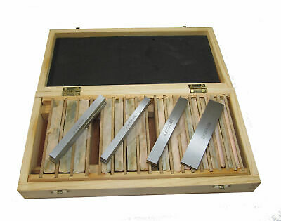 RDGTOOLS 20pc (10pr) Metric Parallels (10mm Wide) 150mm Long Precision Milling • 76.50£