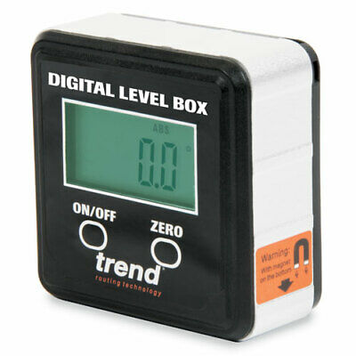 Trend DLB Digital Level Box - Magnetic For Table & Compound Mitre Saws • 20.90£