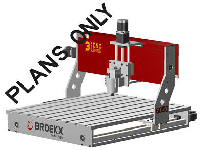 CNC Router 6050 Milling.Drilling Machine DIY Plans Only • 26.48£