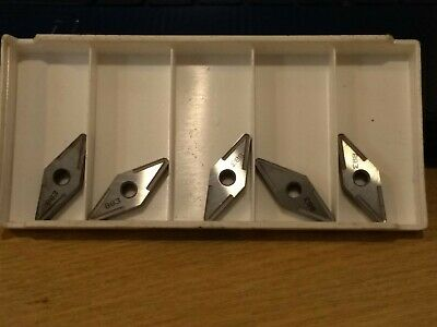 5x Seco Carbide Turning Inserts VNMG160412-MR4  833 • 15£