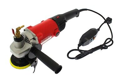 Water Polisher 1400w 230v, Ø100mm 1000-8100 Rpm, Wet Sander • 99£