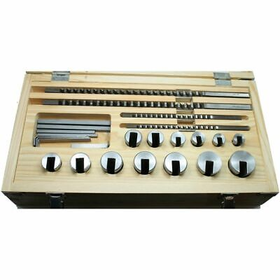 Keyway Broaching Set 4mm, 5mm, 6mm, 8mm Broach HSS 26 Keyway Combinations • 320£
