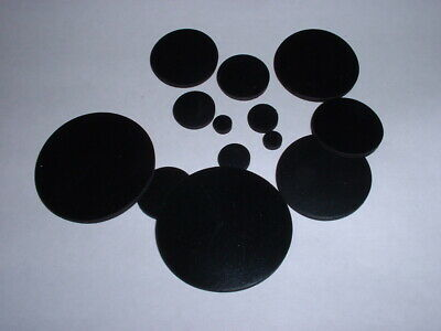 1.5mm Thick Multi Use Flat Round Epdm Rubber Disc Buffer Choose Diameter 5 Pack • 2.39£