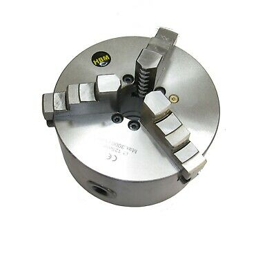 Rdg 125mm 3 Jaw Self Centering Lathe Chuck D13 Camlock D3 Both Sets Of Jaws • 149.50£
