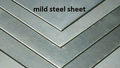 MILD STEEL SHEET  -  Thicknesses From 0.7mm Upto 4mm  -  Many Size Combinations • 4.29£